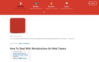How To Deal With Workaholism On Web Teams
